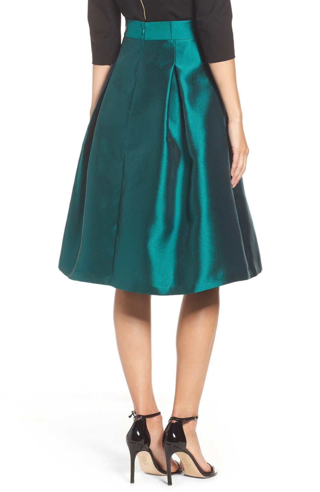 Alternate Image 4  - Eliza J Release Pleat Full Skirt