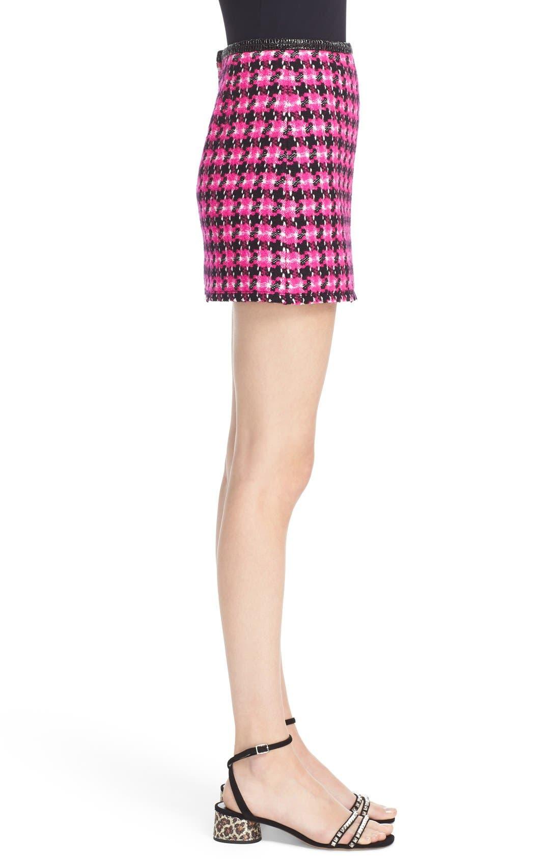 Alternate Image 4  - MARC JACOBS Geo Tweed Miniskirt
