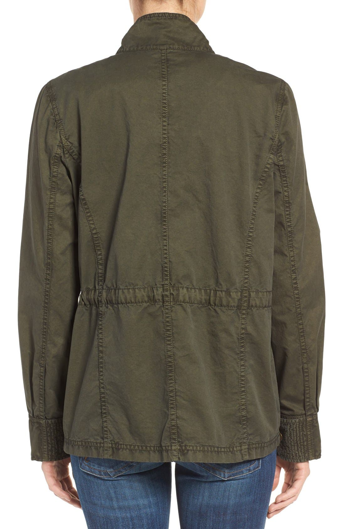 Alternate Image 2  - Caslon® Utility Jacket (Regular & Petite)