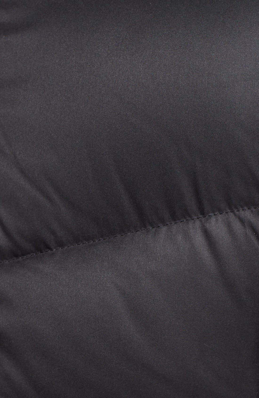 Alternate Image 5  - Ellen Tracy Faux Fur Trim Down Coat