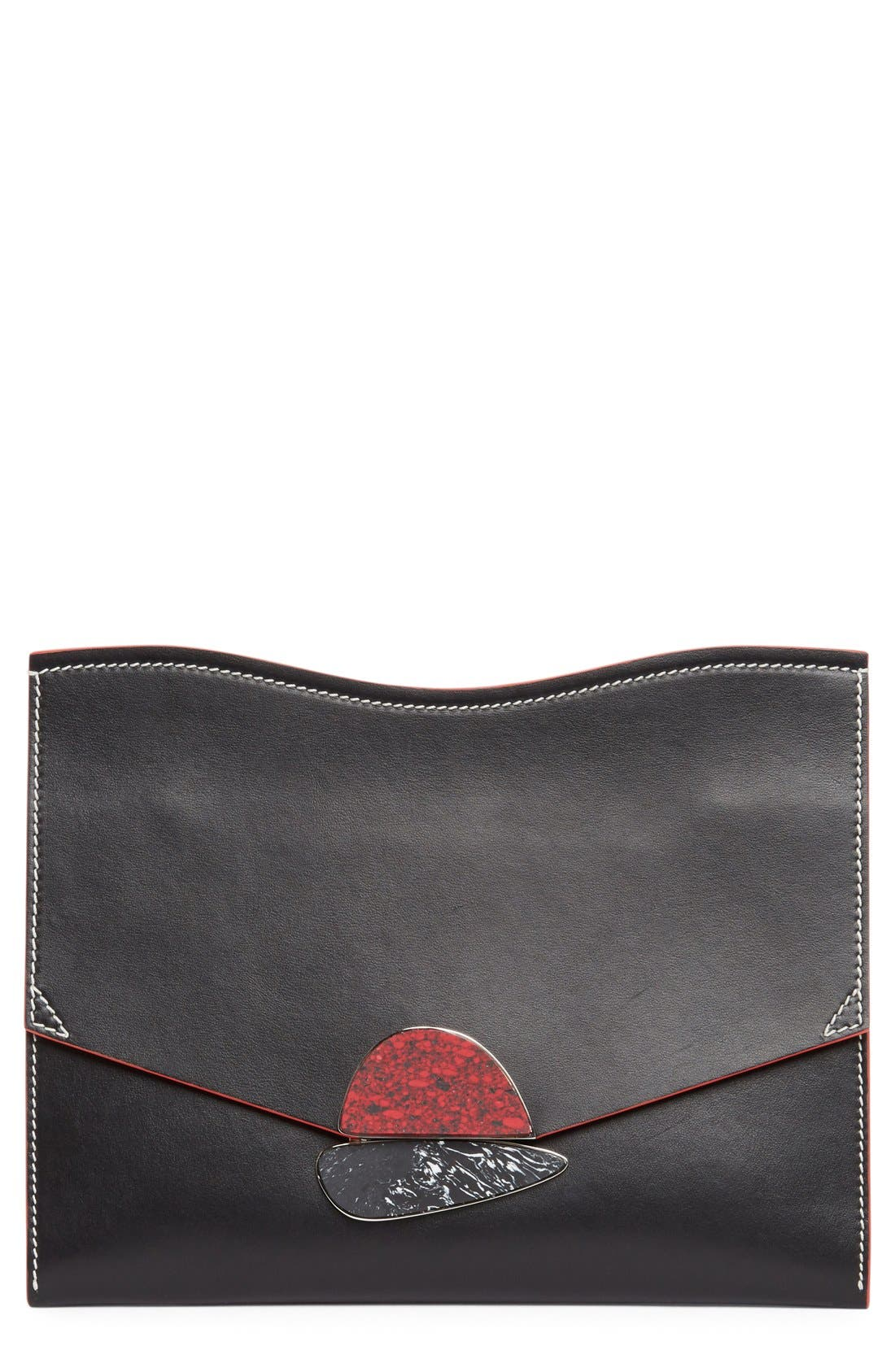 Proenza Schouler Medium Calfskin Leather Clutch
