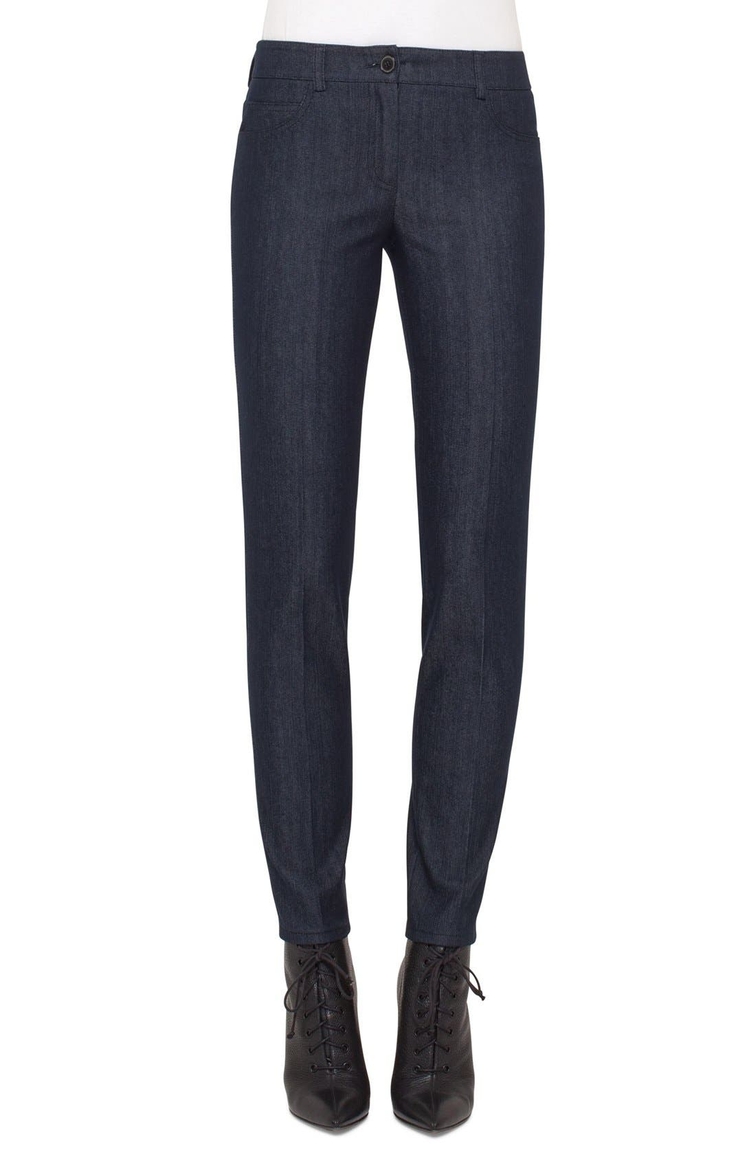Akris Stretch Denim Pants