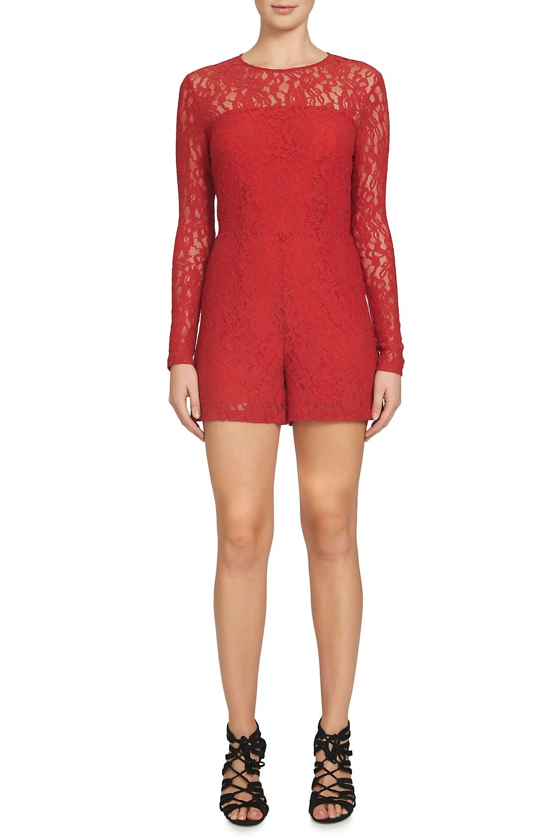 Alternate Image 1 Selected - 1.STATE Lace Romper