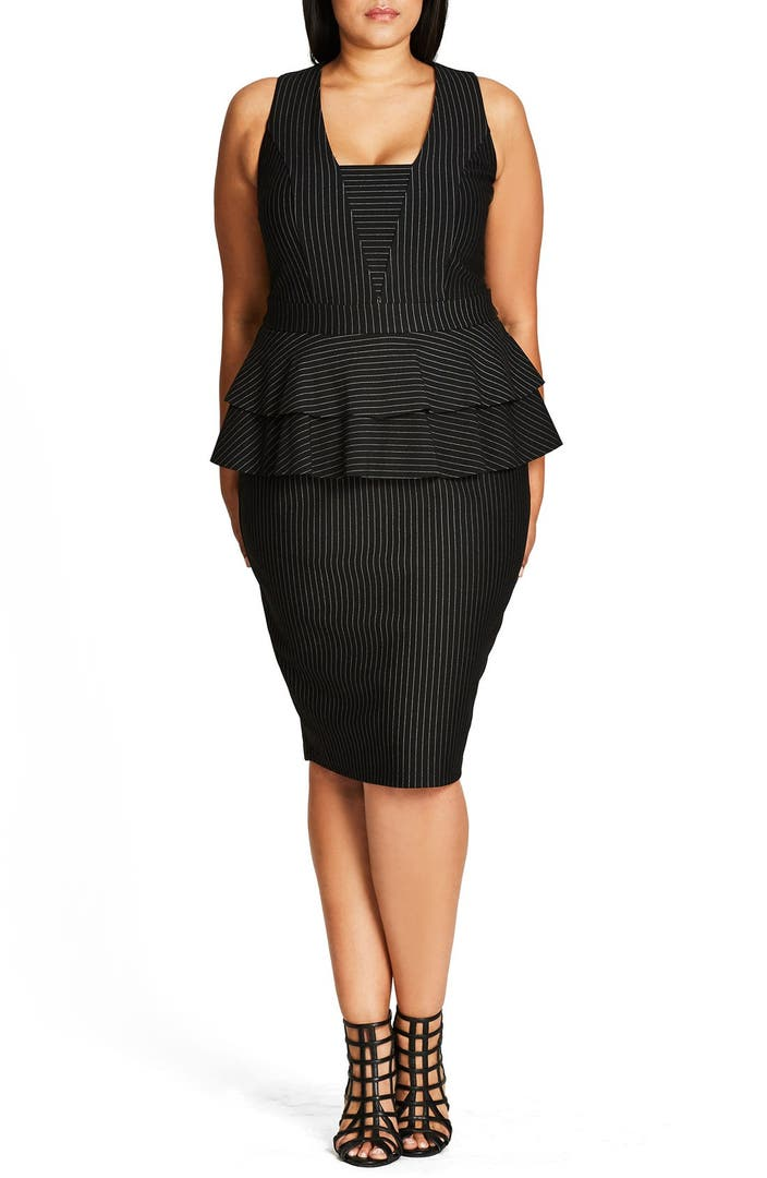 Vikki Vi Sleeveless Shift Dress Plus Size Nordstrom