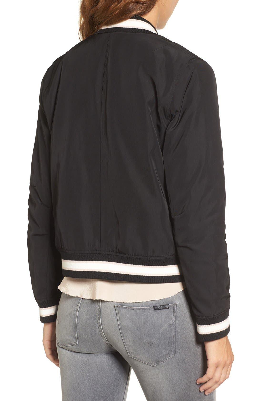 Alternate Image 2  - Trouvé Embroidered Bomber Jacket