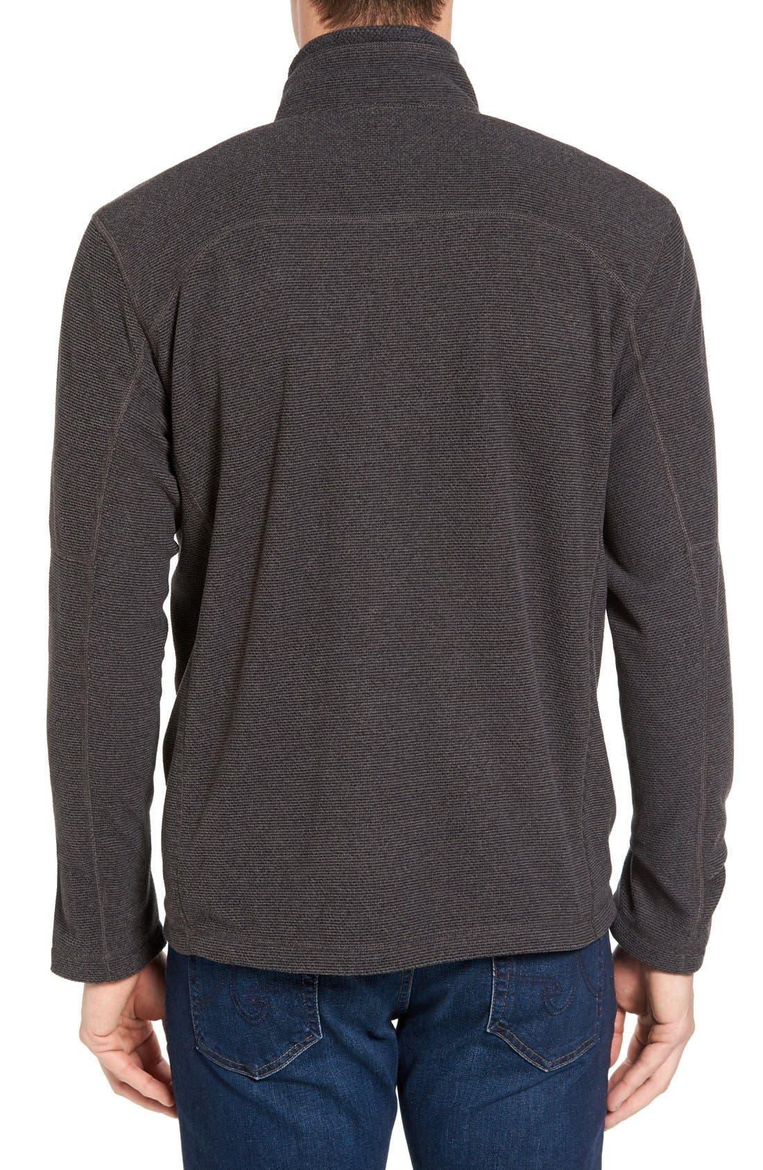 Alternate Image 2  - The North Face 'Texture Cap Rock' Fleece Jacket
