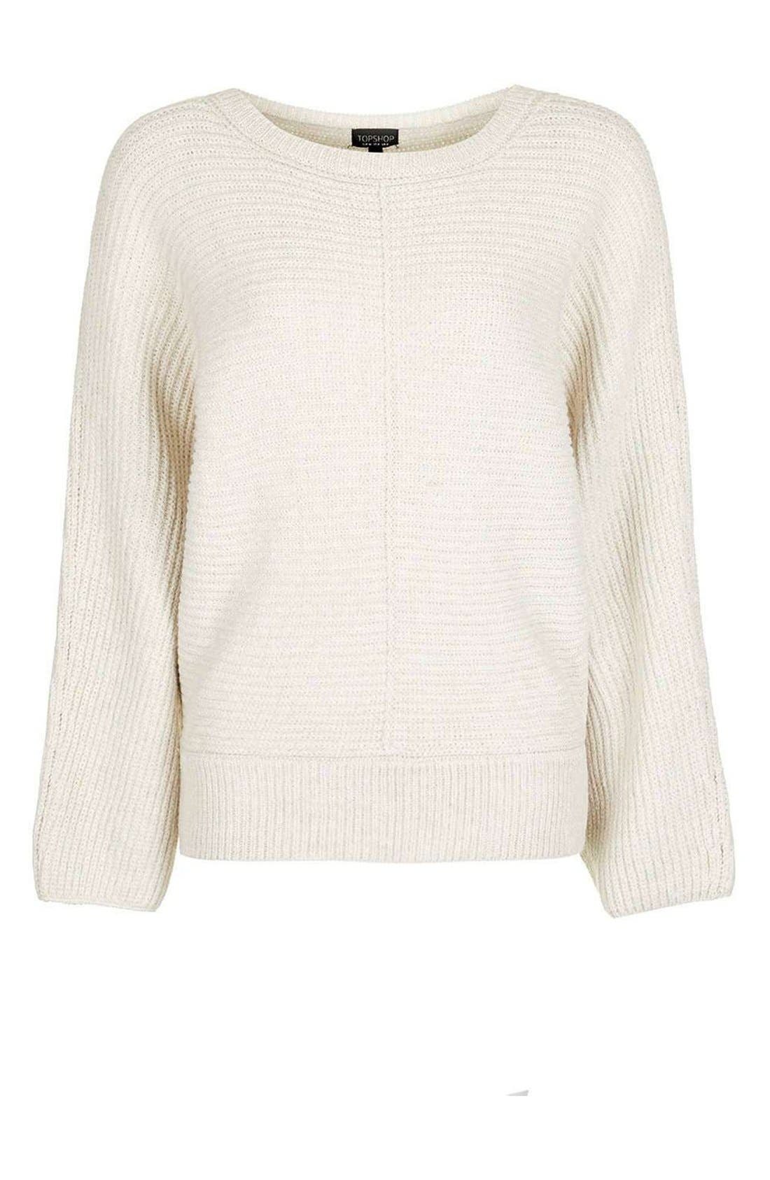 Alternate Image 4  - Topshop Kimono Sleeve Sweater