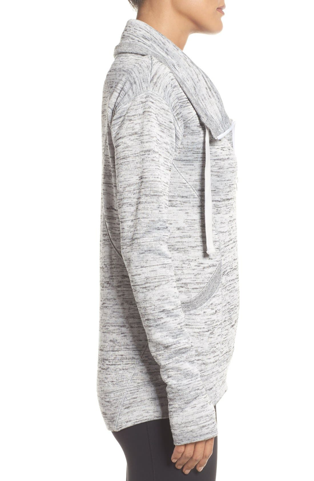 Alternate Image 3  - Zella Cozy to the Core Sweater Jacket