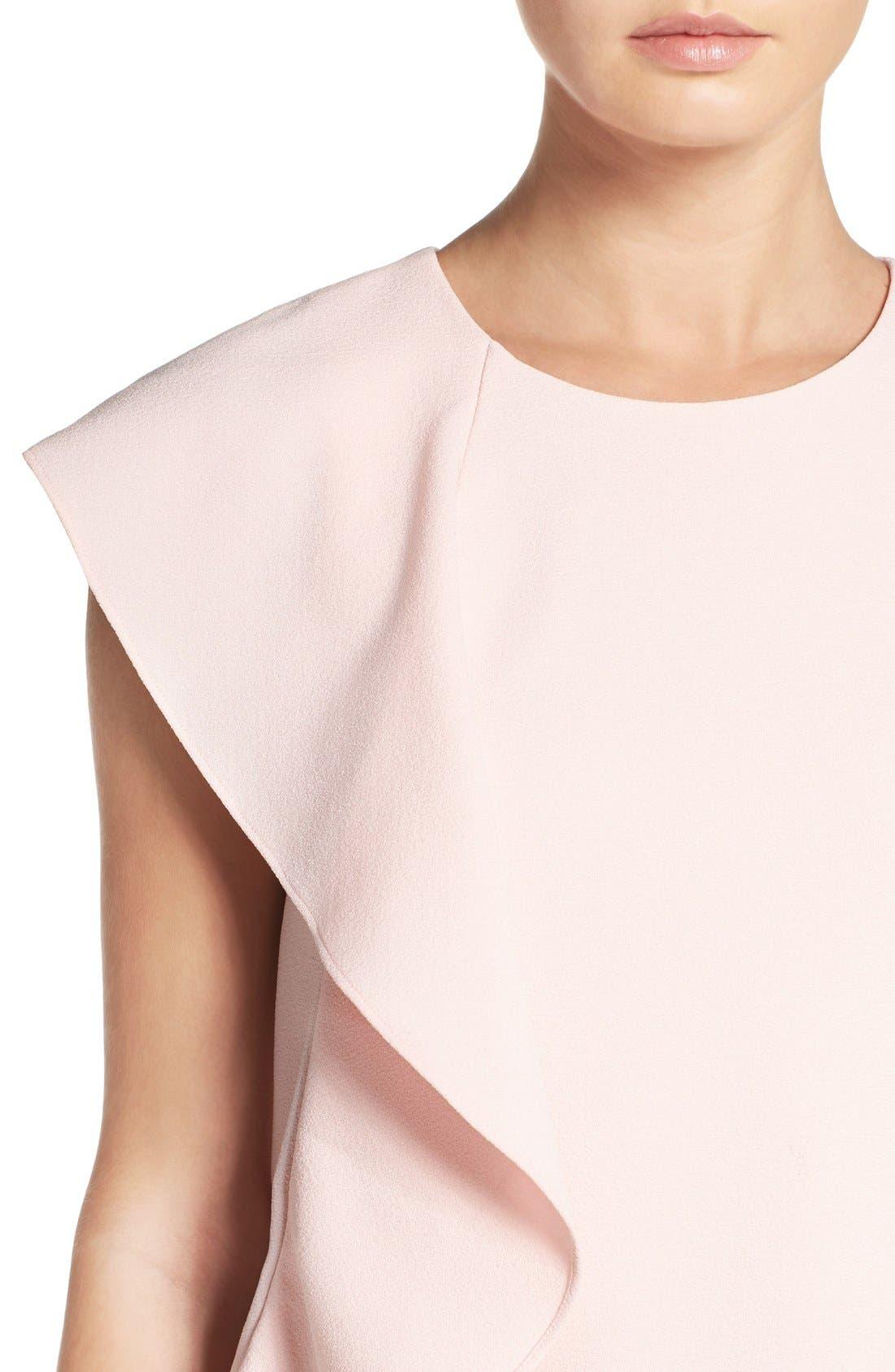 Alternate Image 5  - Chelsea28 Asymmetrical Ruffle Shift Dress