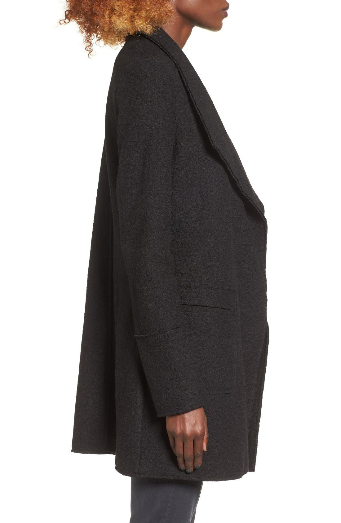 Alternate Image 4  - Thread & Supply Drape Front Coat