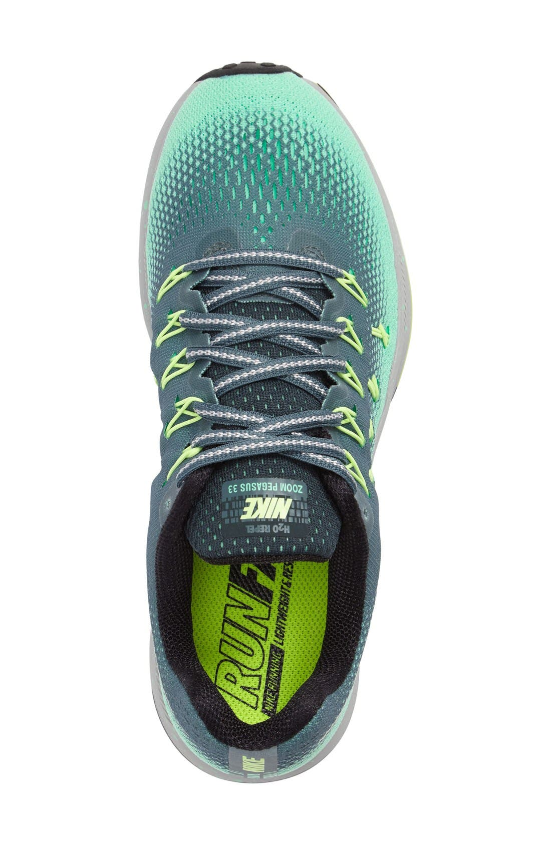 Alternate Image 3  - Nike Air Zoom Pegasus 33 Shield Running Shoe (Women)