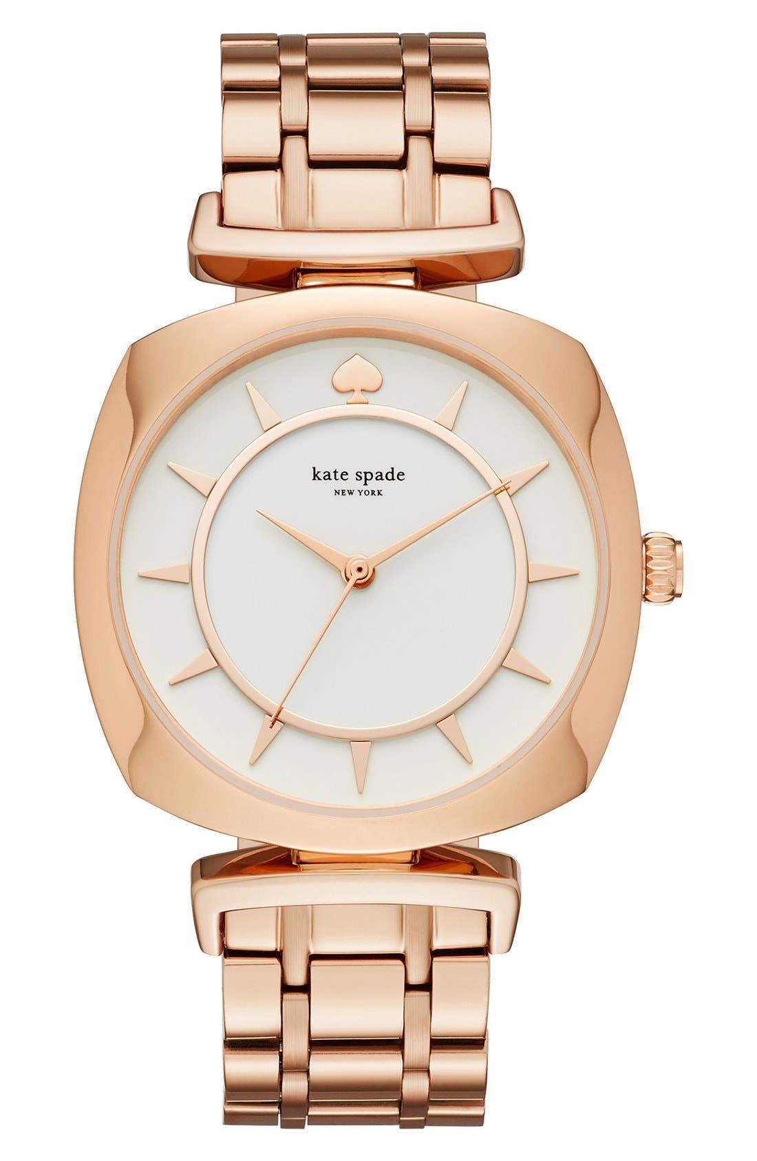 KATE SPADE NEW YORK barrow bracelet watch, 34mm