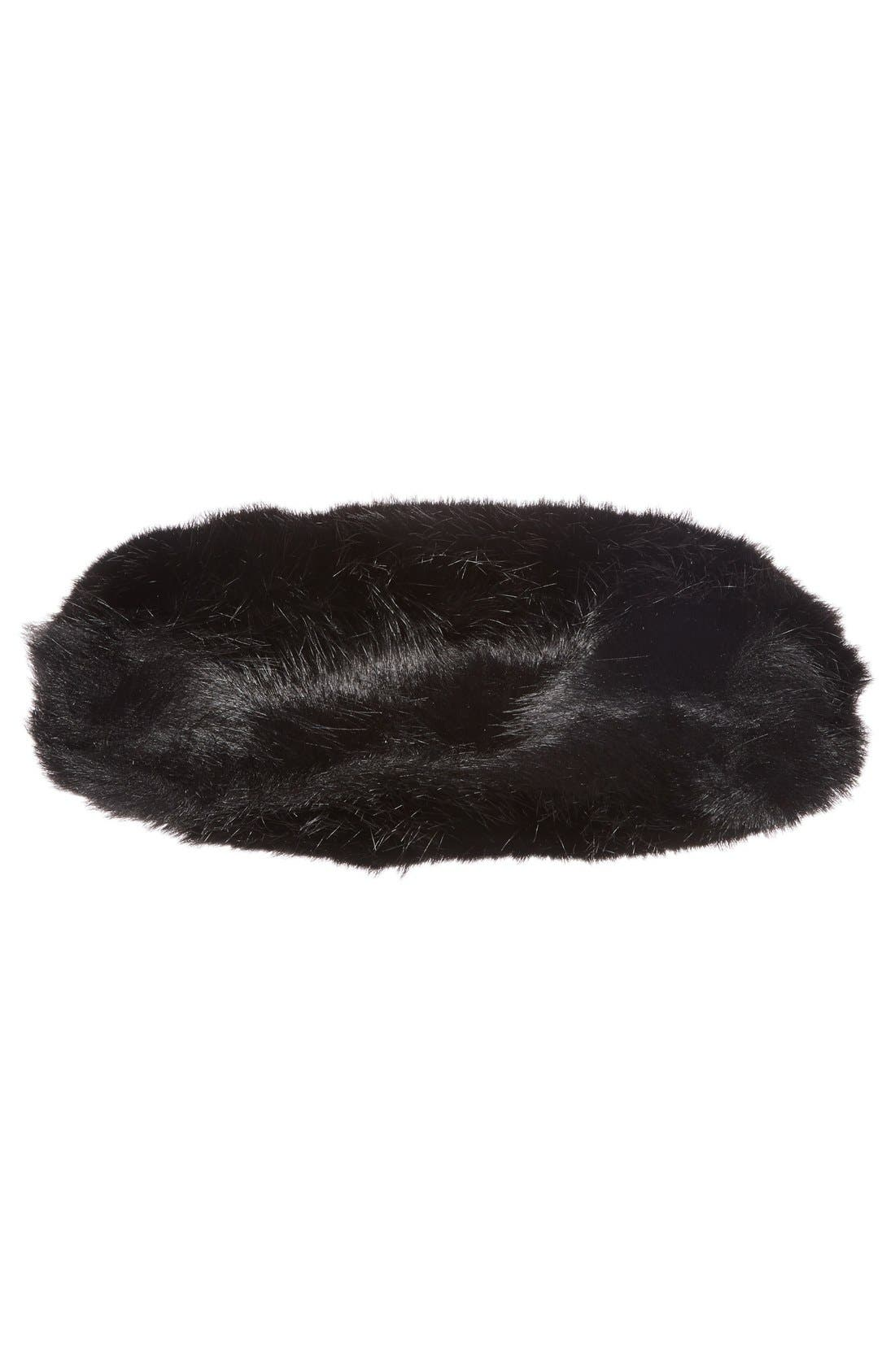Alternate Image 6  - BP. Faux Fur Clutch