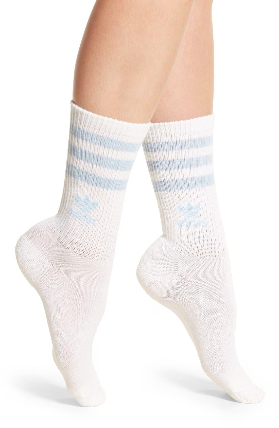 adidas 3-Stripes Crew Socks