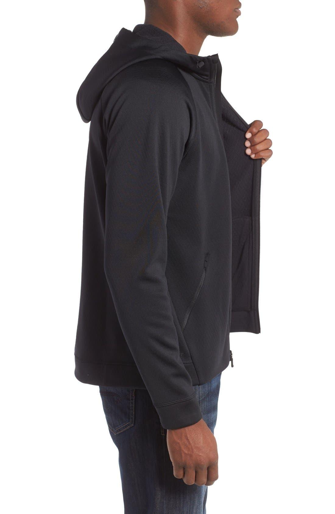 Alternate Image 3  - Nike Therma-Sphere Hooded Zip Jacket
