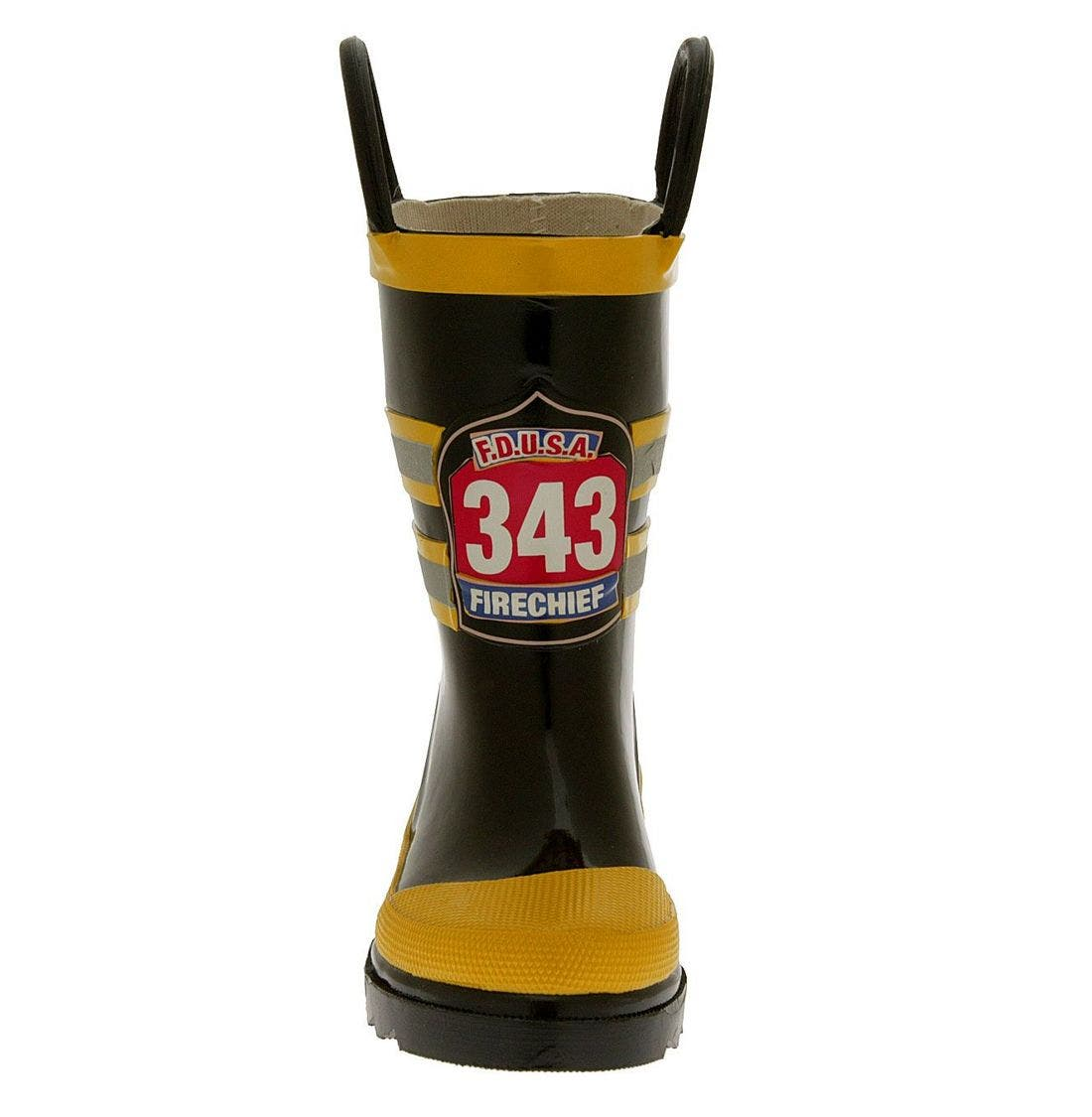 Alternate Image 3  - Western Chief 'Fireman' Rain Boot (Walker, Toddler, Little Kid & Big Kid)