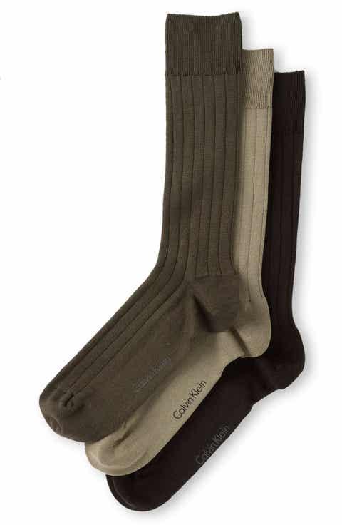 Calvin Klein 3-Pack Wide Rib Socks