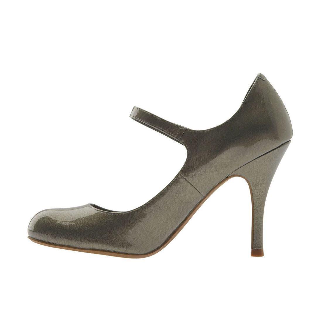Alternate Image 4  - Linea Paolo 'Zara' Patent Leather Mary Jane Pump