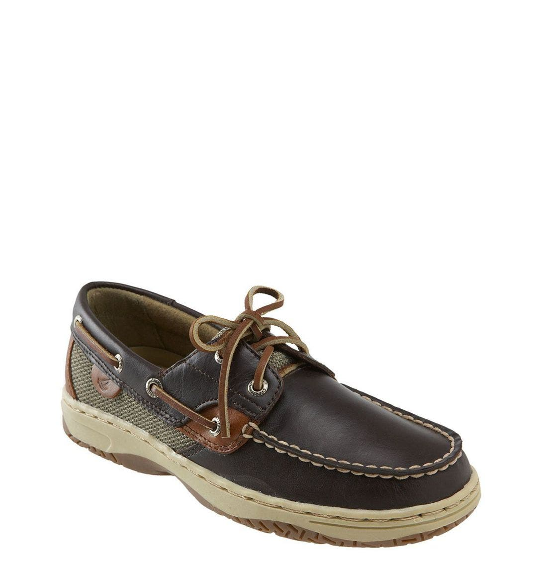 Alternate Image 1 Selected - Sperry Kids 'Bluefish' Boat Shoe (Walker, Toddler, Little Kid & Big Kid)