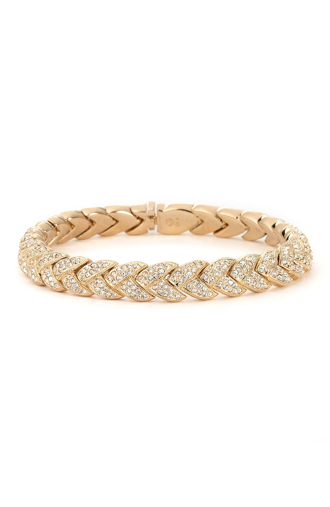 Alternate Image 1 Selected - Nadri Woven Pavé Crystal Bracelet