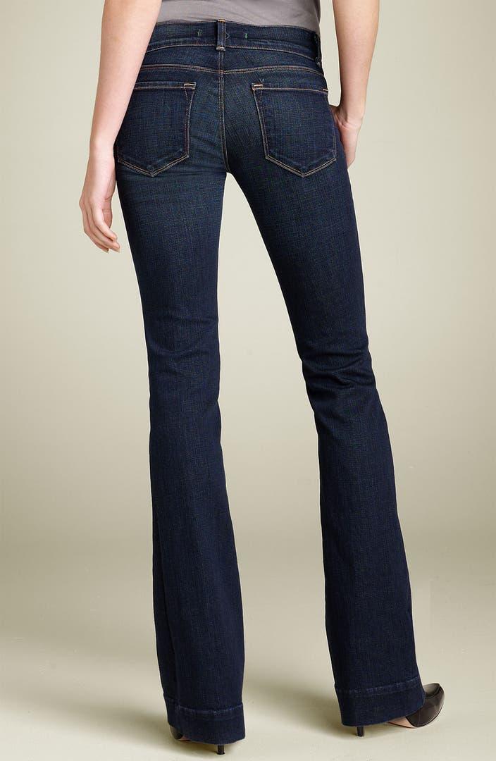 J Brand Heartbreaker Bootcut Stretch Jeans Dark Vintage