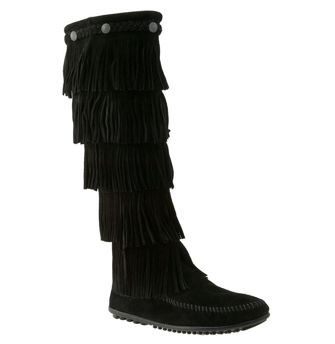 Minnetonka '5 Layer Fringe' Boot