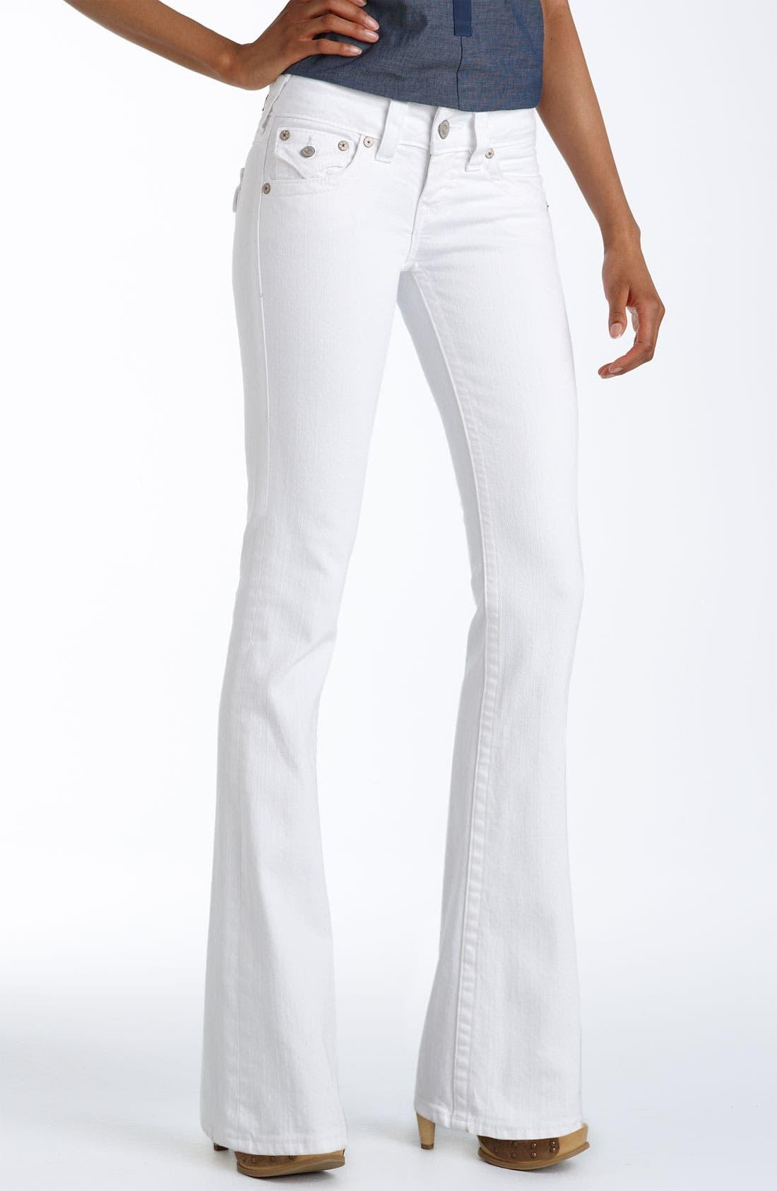 Alternate Image 2  - True Religion Brand Jeans 'Becky' Bootcut Stretch Jeans (Body Rinse White)