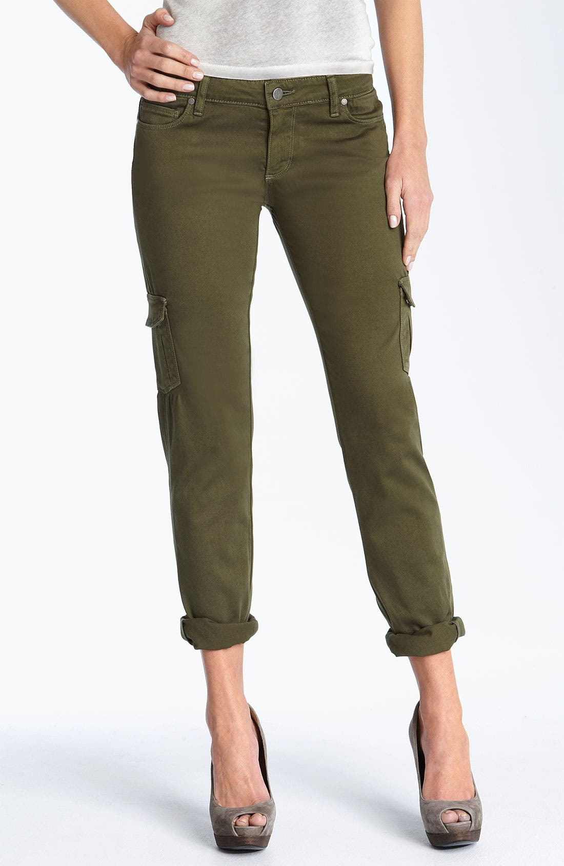 Alternate Image 1 Selected - Paige Denim 'Layne' Skinny Leg Cargo Pants