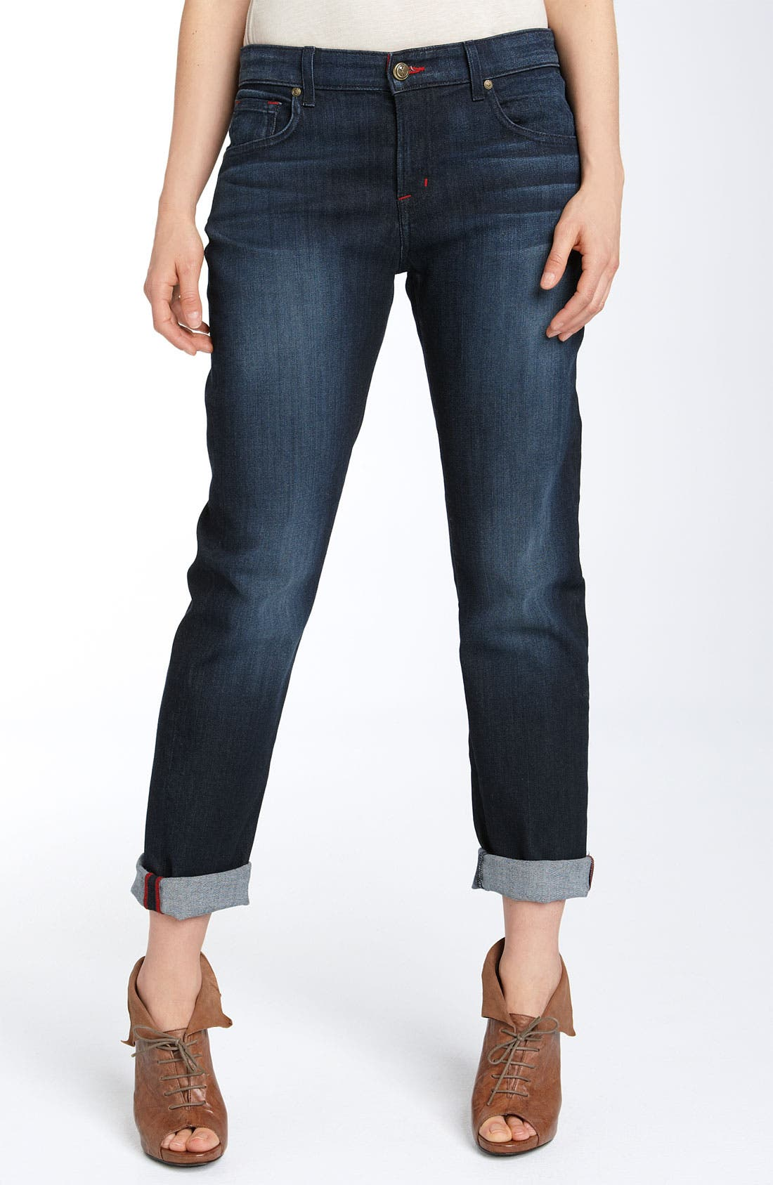Alternate Image 2  - CJ by Cookie Johnson 'Praise' Relaxed Cropped Jeans (Blue Iris Rinse Wash)