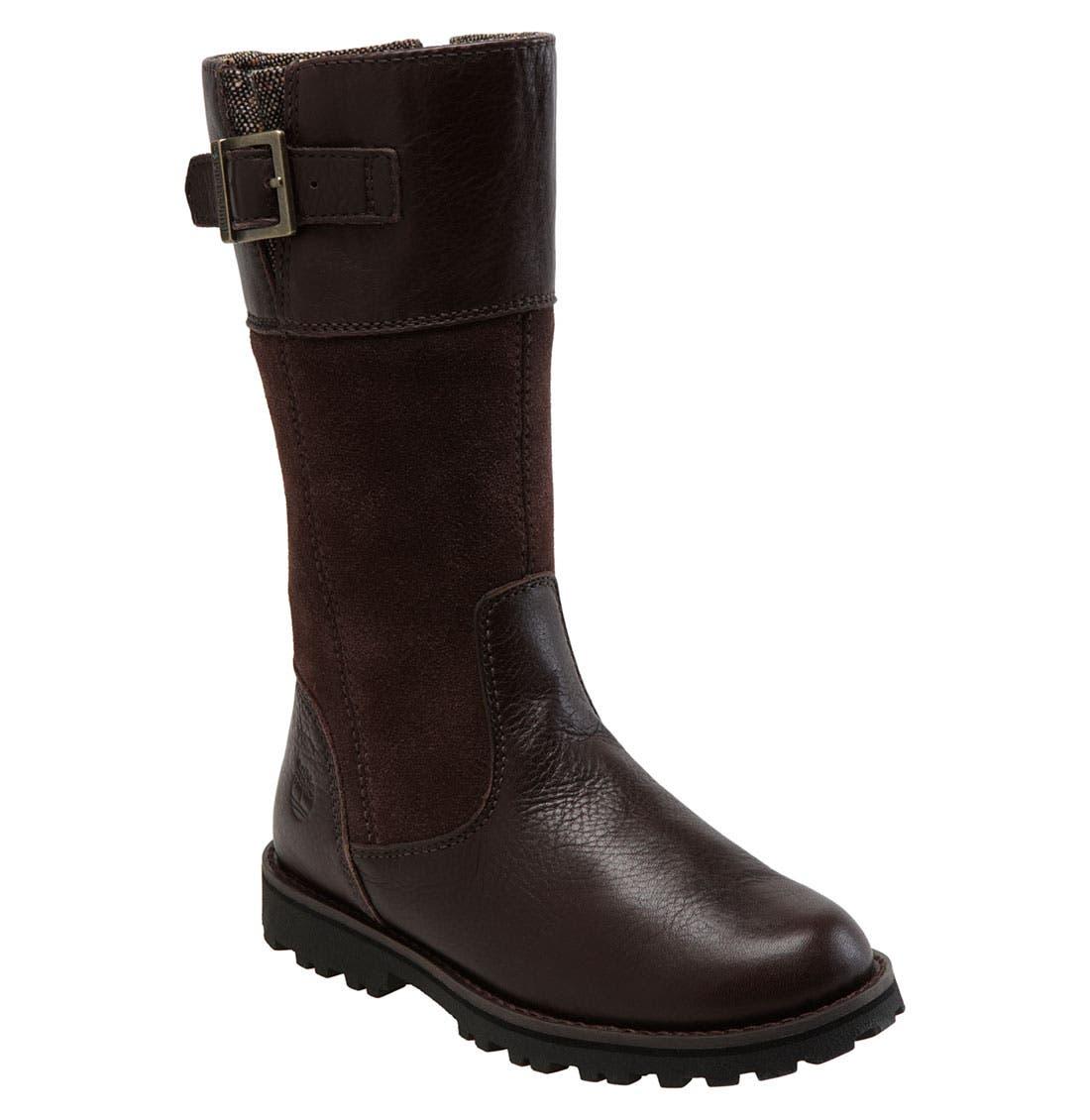 Alternate Image 1 Selected - Timberland 'Maplebrook' Tall Boot (Walker, Toddler, Little Kid & Big Kid)