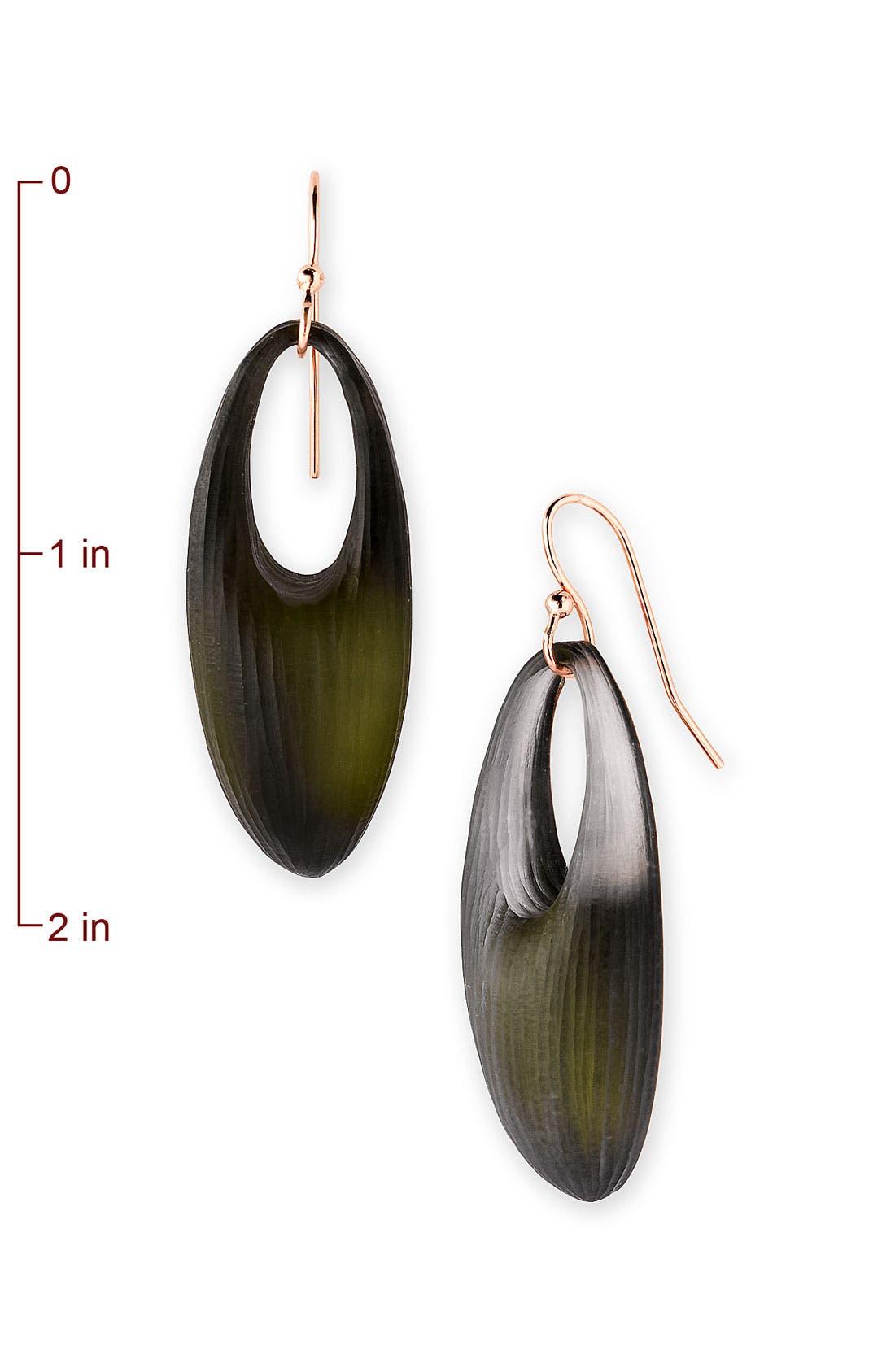 Alternate Image 2  - Alexis Bittar 'Mercury' Oval Drop Earrings