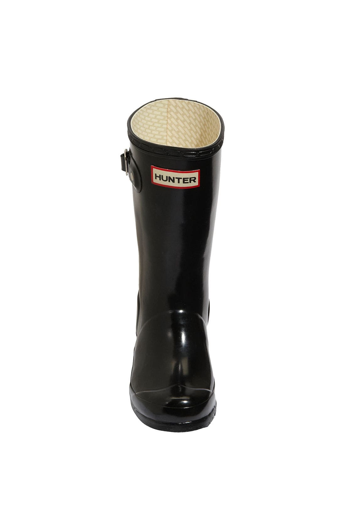 Alternate Image 2  - Hunter 'Original Gloss' Rain Boot (Little Kid & Big Kid)