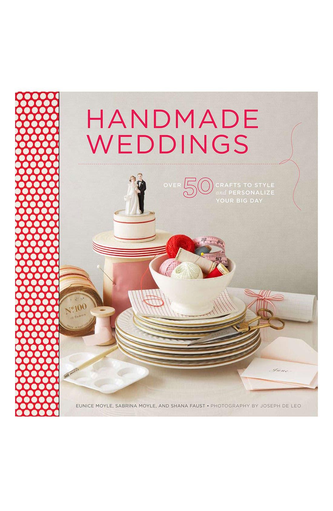 Alternate Image 1 Selected - 'Handmade Weddings' Book