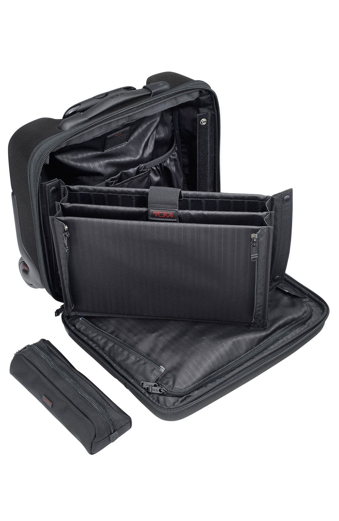 Alternate Image 2  - Tumi 'Alpha' Compact Wheeled Briefcase