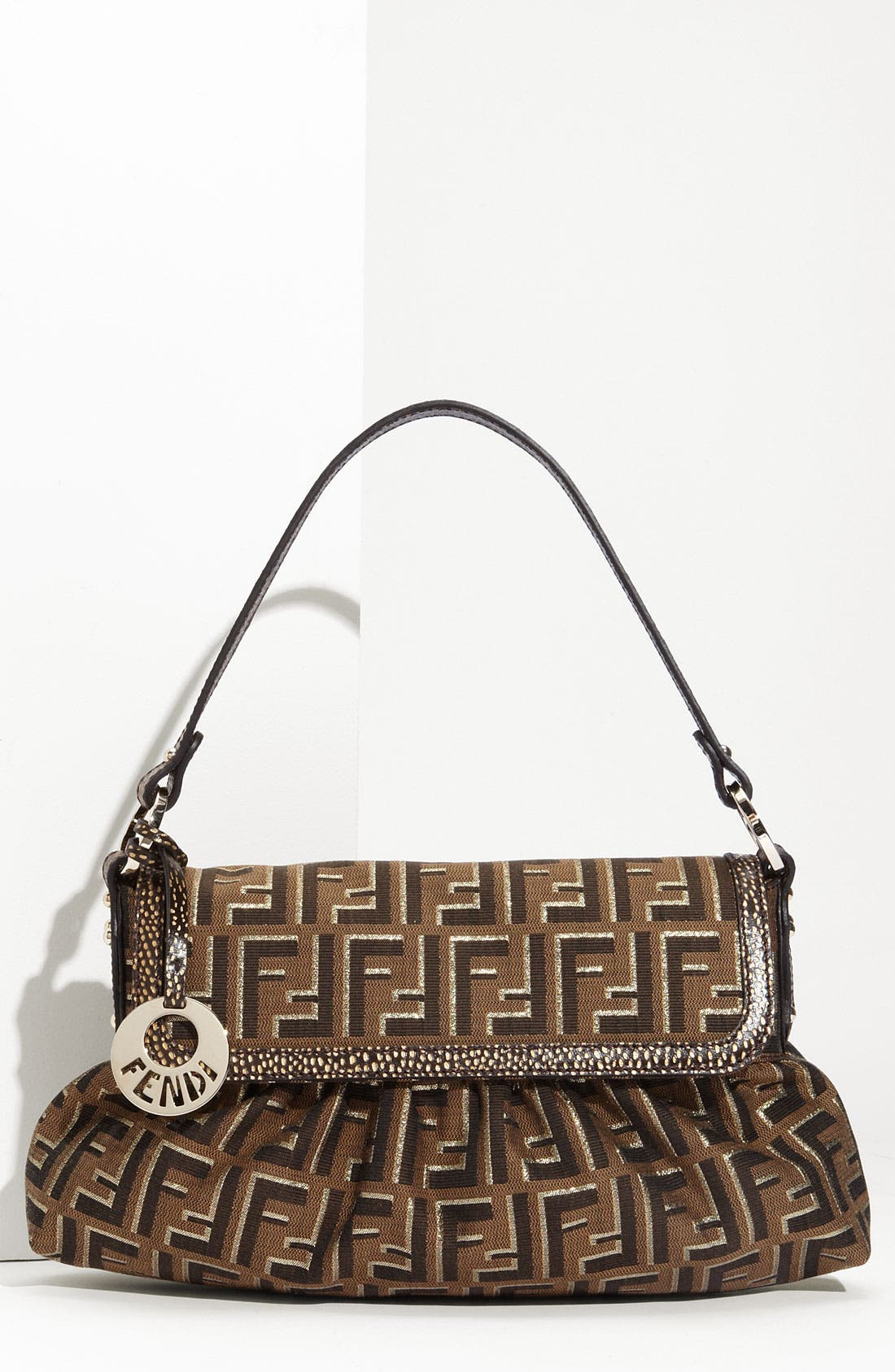 Alternate Image 1 Selected - Fendi 'Chef - Ombra' Flap Bag