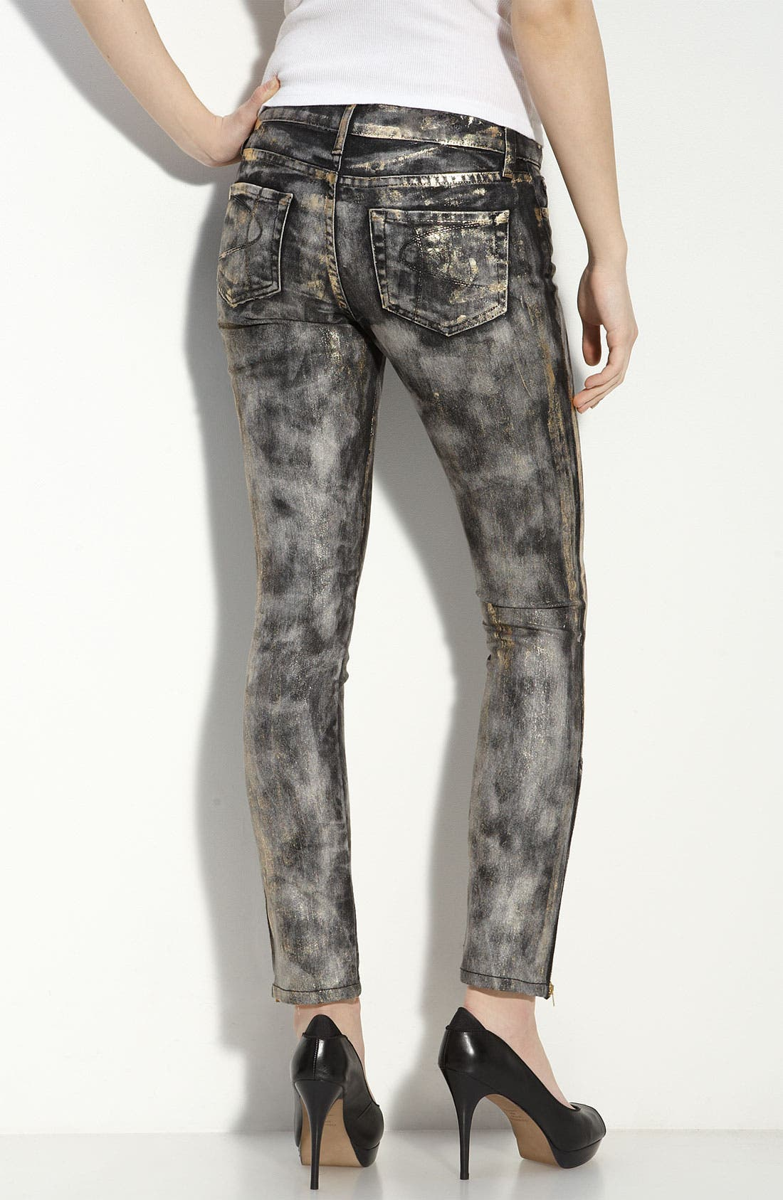 Alternate Image 1 Selected - David Kahn Jeans 'Nikki' Ankle Jeans