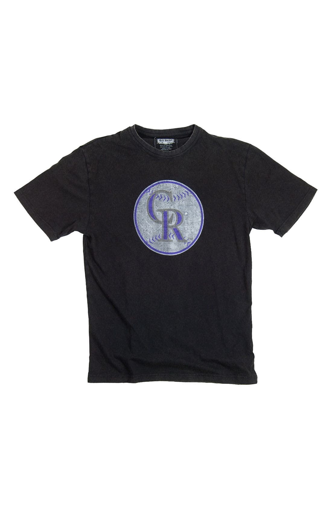 Main Image - Red Jacket 'Colorado Rockies' T-Shirt (Men)
