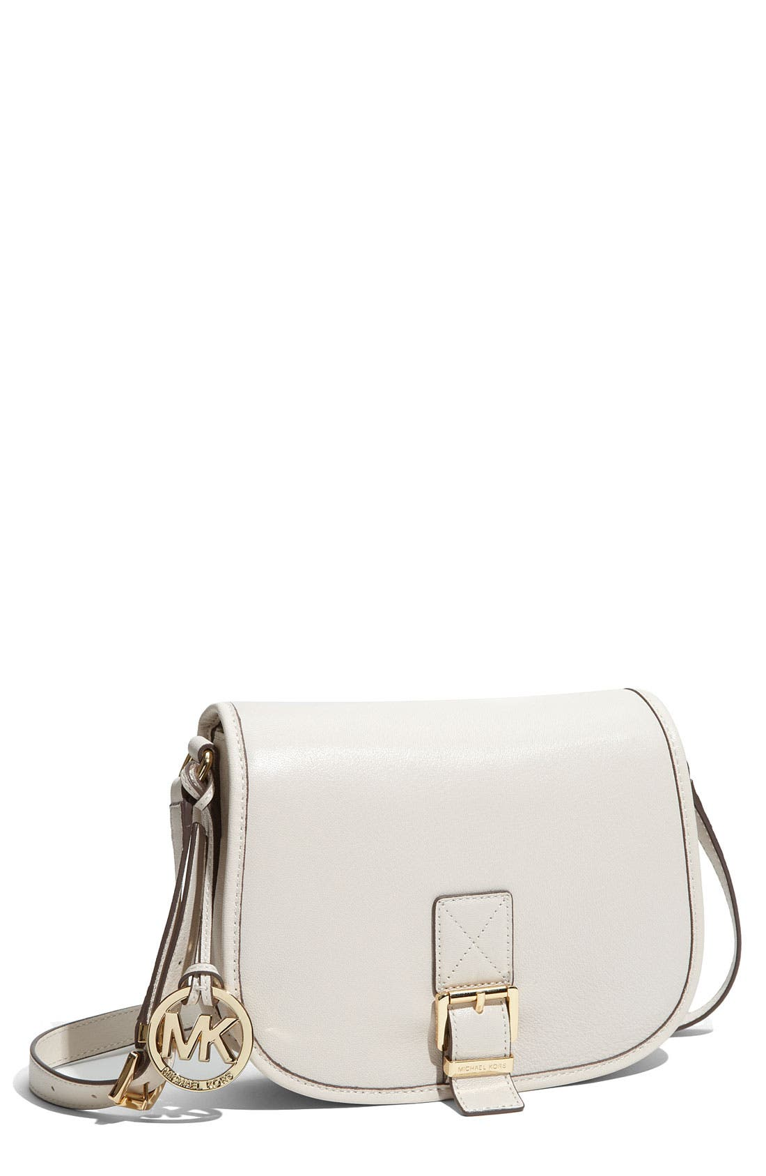 Main Image - MICHAEL Michael Kors 'Medium' Messenger Saddle Bag
