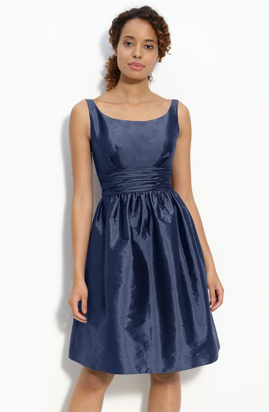 Main Image - Eliza J Sleeveless Taffeta Dress