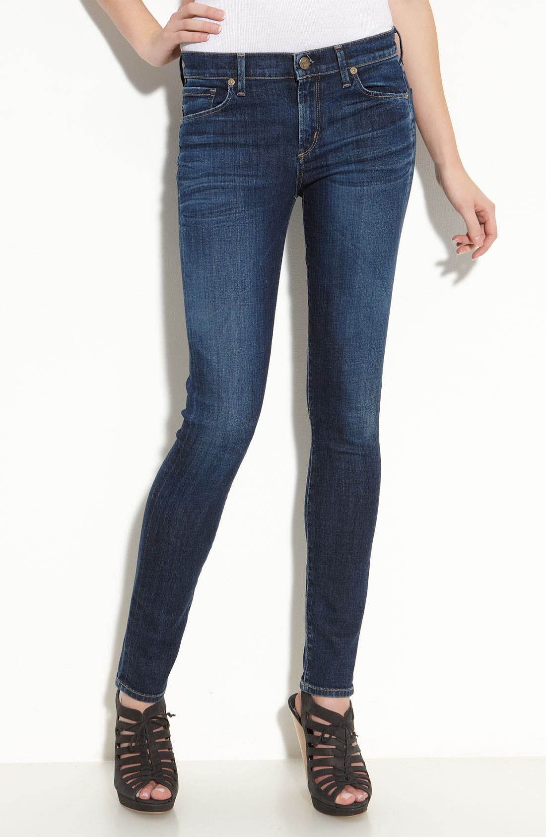 Alternate Image 2  - Citizens of Humanity Skinny Jeans (Spectrum Wash)