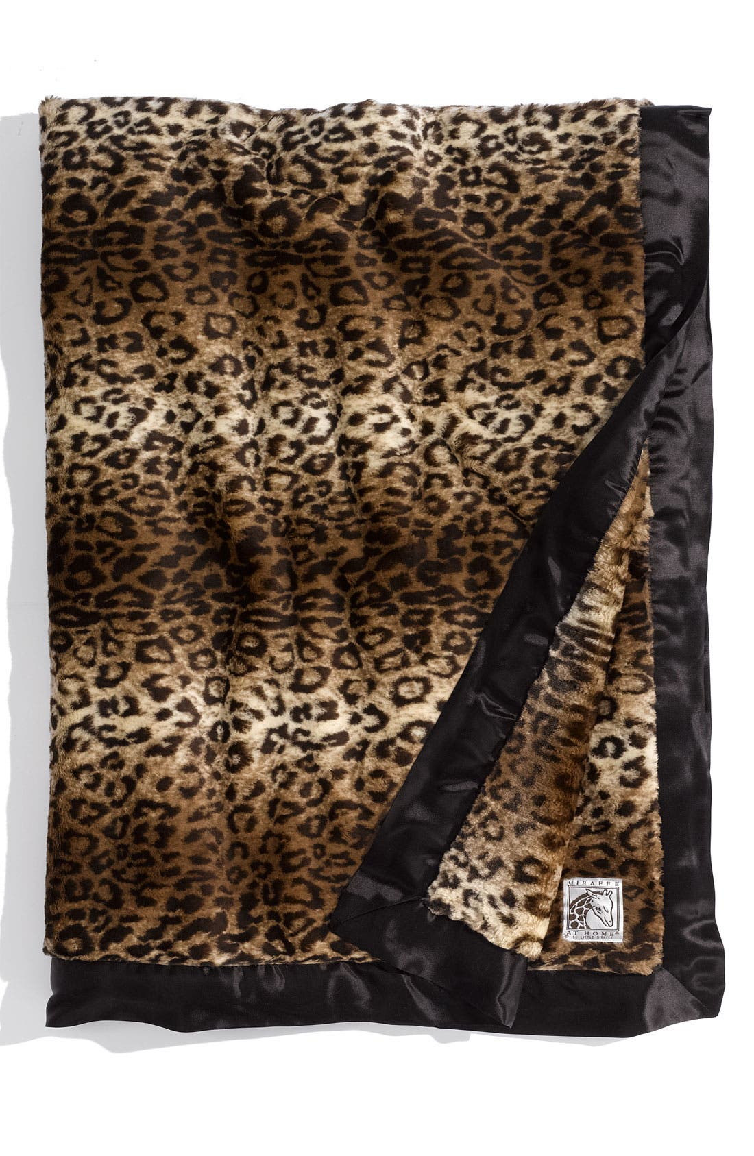 Main Image - Giraffe at Home 'Luxe™ Leopard' Throw