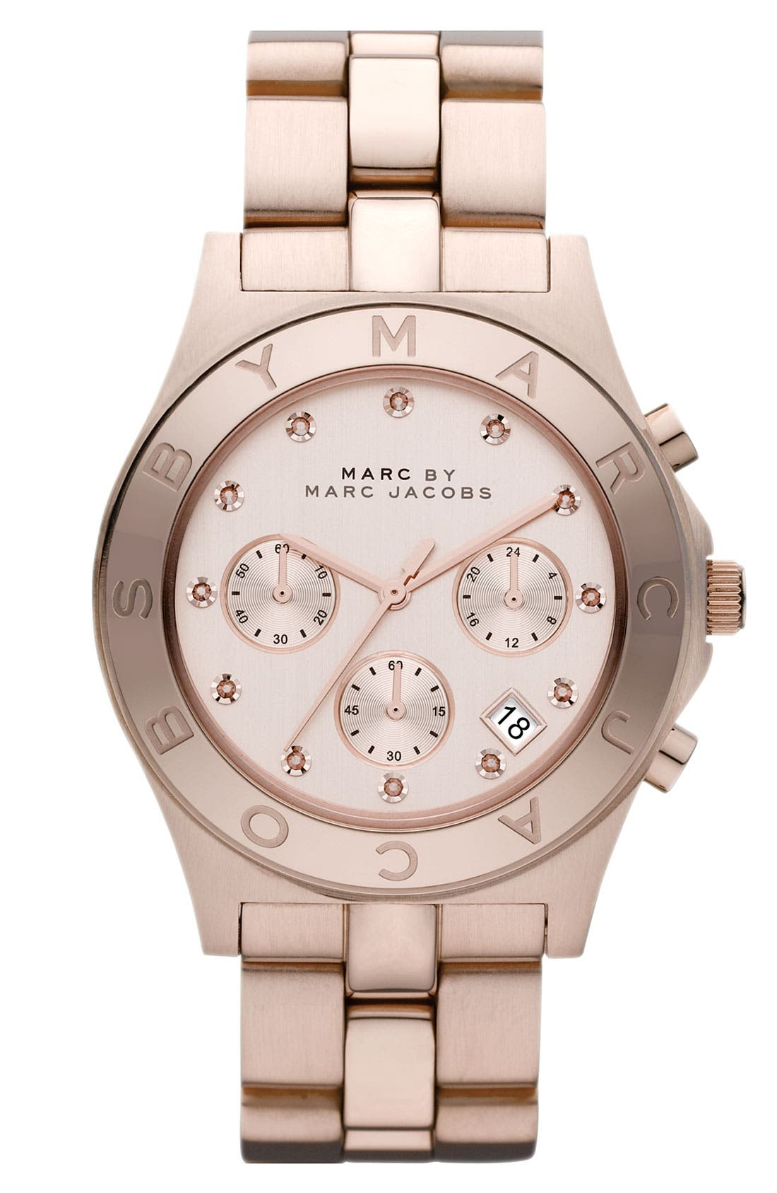 Main Image - MARC JACOBS 'Blade' Crystal Index Watch