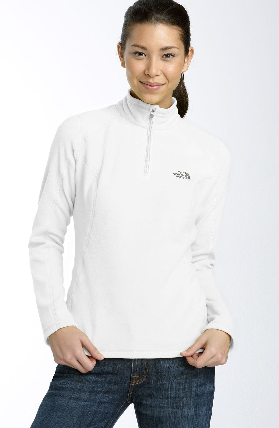 Main Image - The North Face 'TKA Glacier' Quarter Zip Fleece