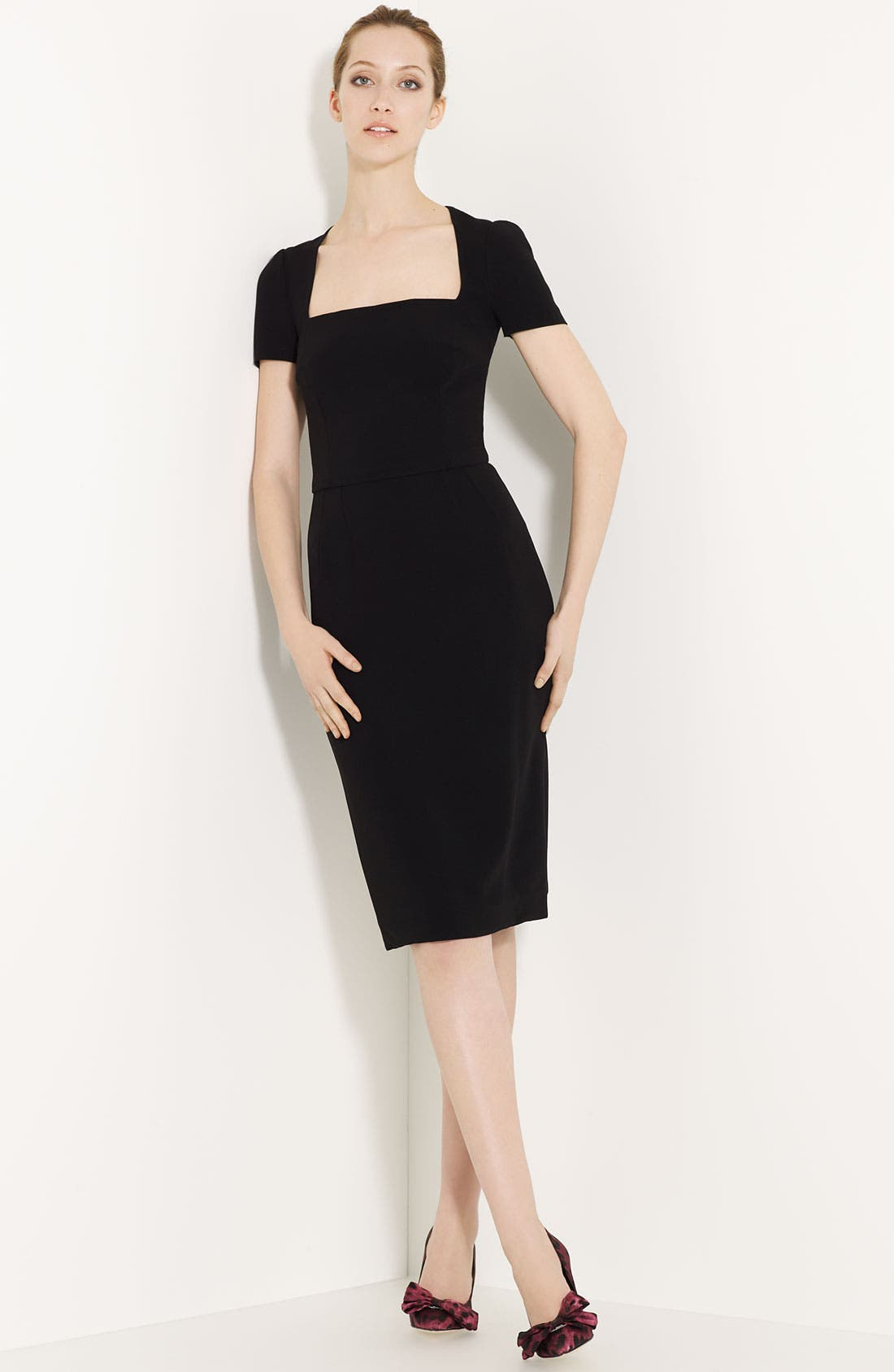 Main Image - Dolce&Gabbana Square Neck Dress