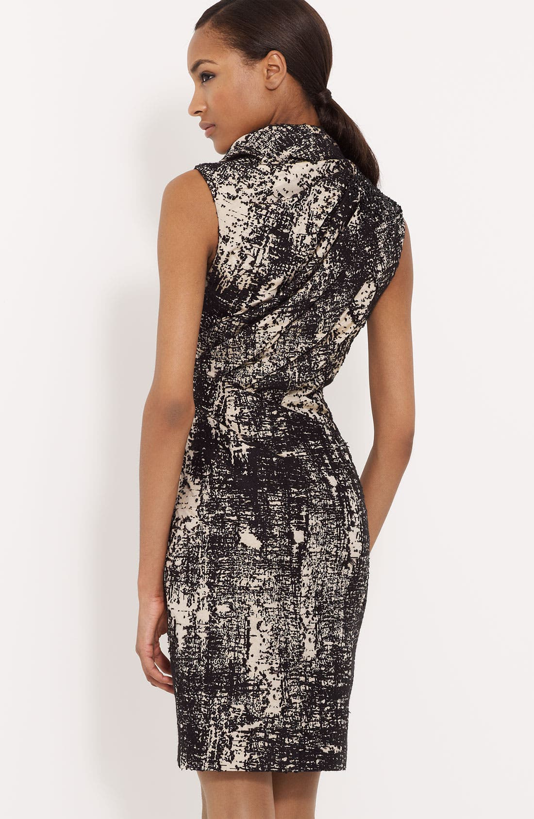 Alternate Image 2  - Ports 1961 Pleated Jacquard Dress