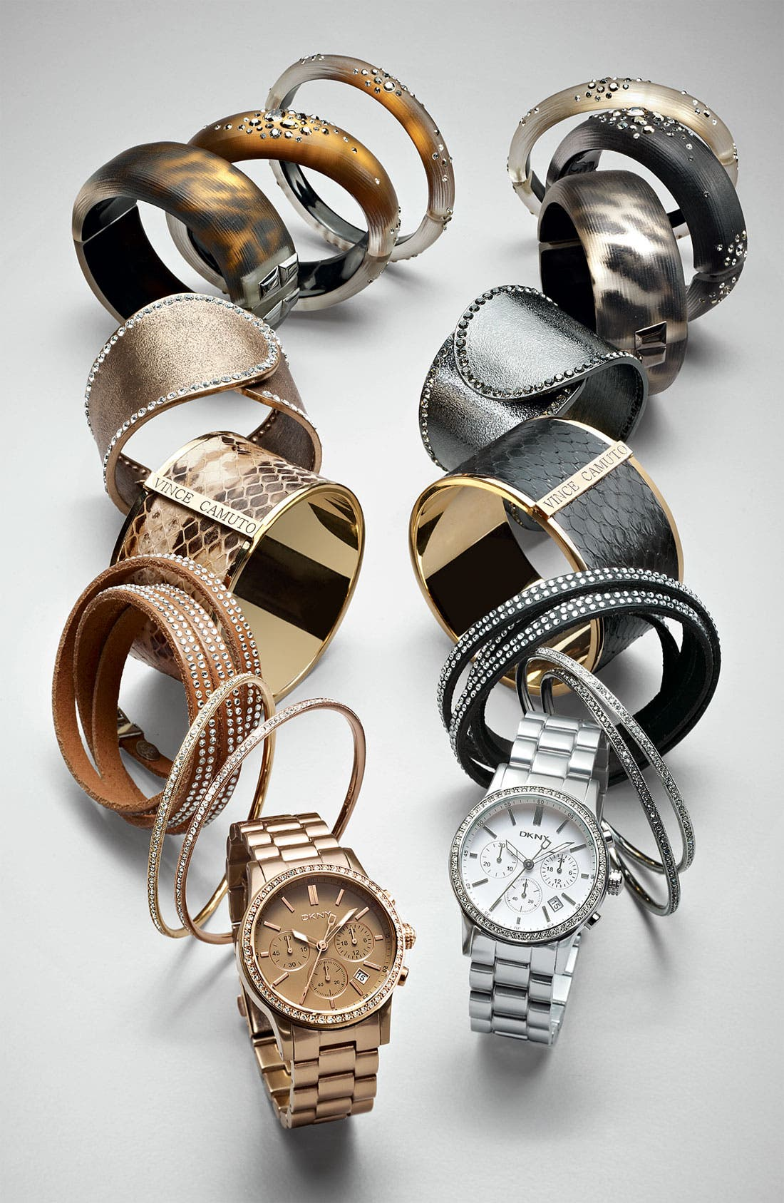 Alternate Image 3  - Alexis Bittar 'Sepia Dust' Small Hinged Bracelet (Nordstrom Exclusive)
