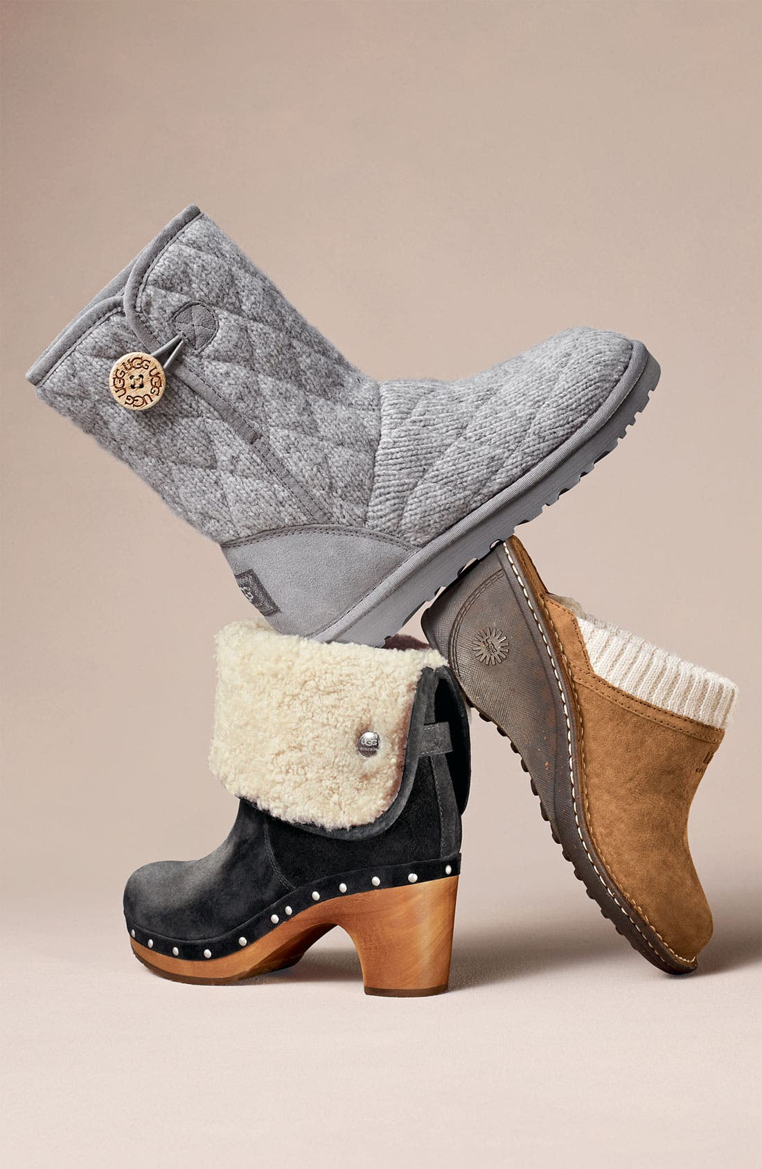 Alternate Image 5  - UGG® Australia 'Mountain' Quilted Boot (Women)