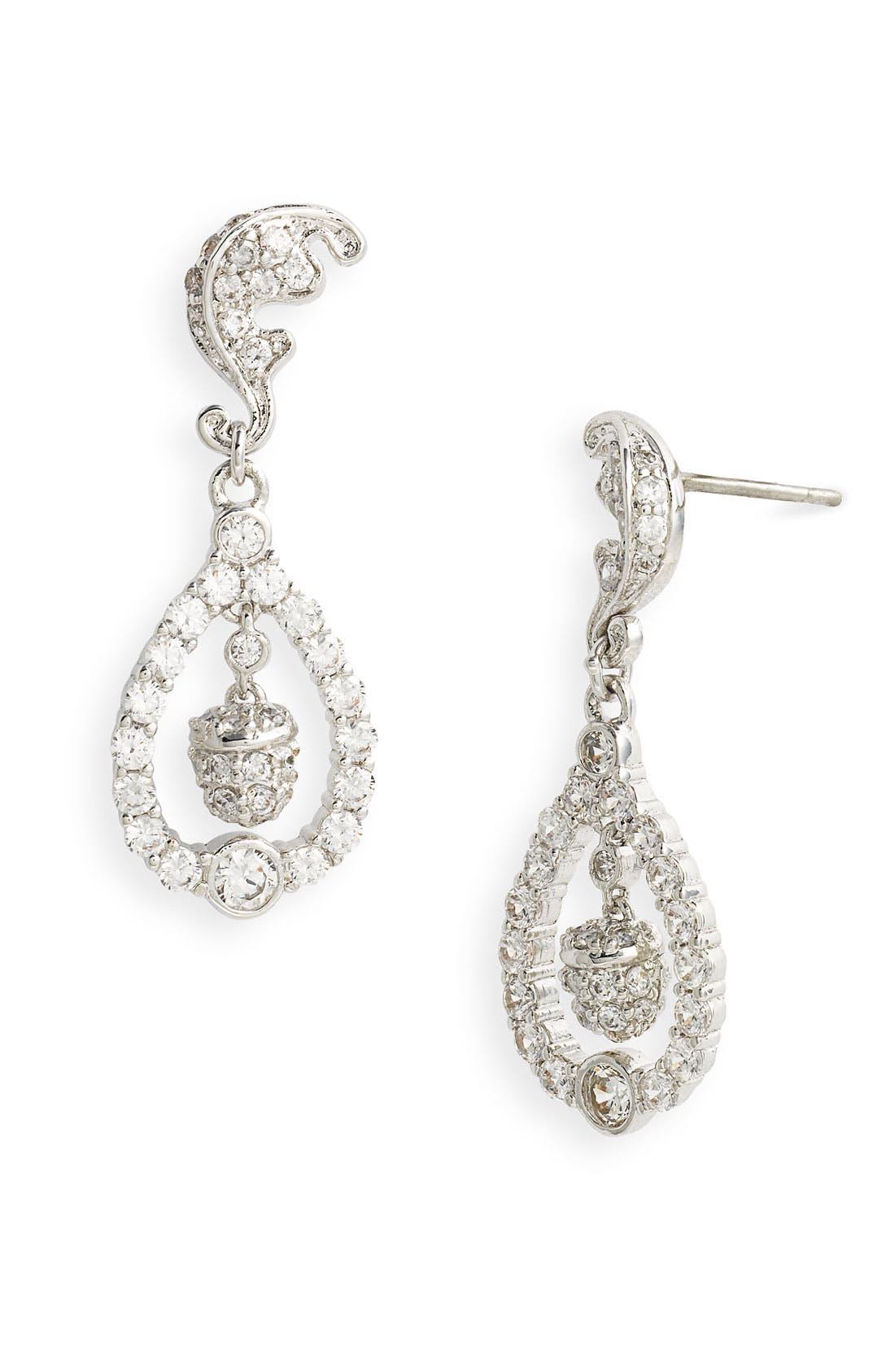 Main Image - Ariella Collection Acorn & Leaf Earrings