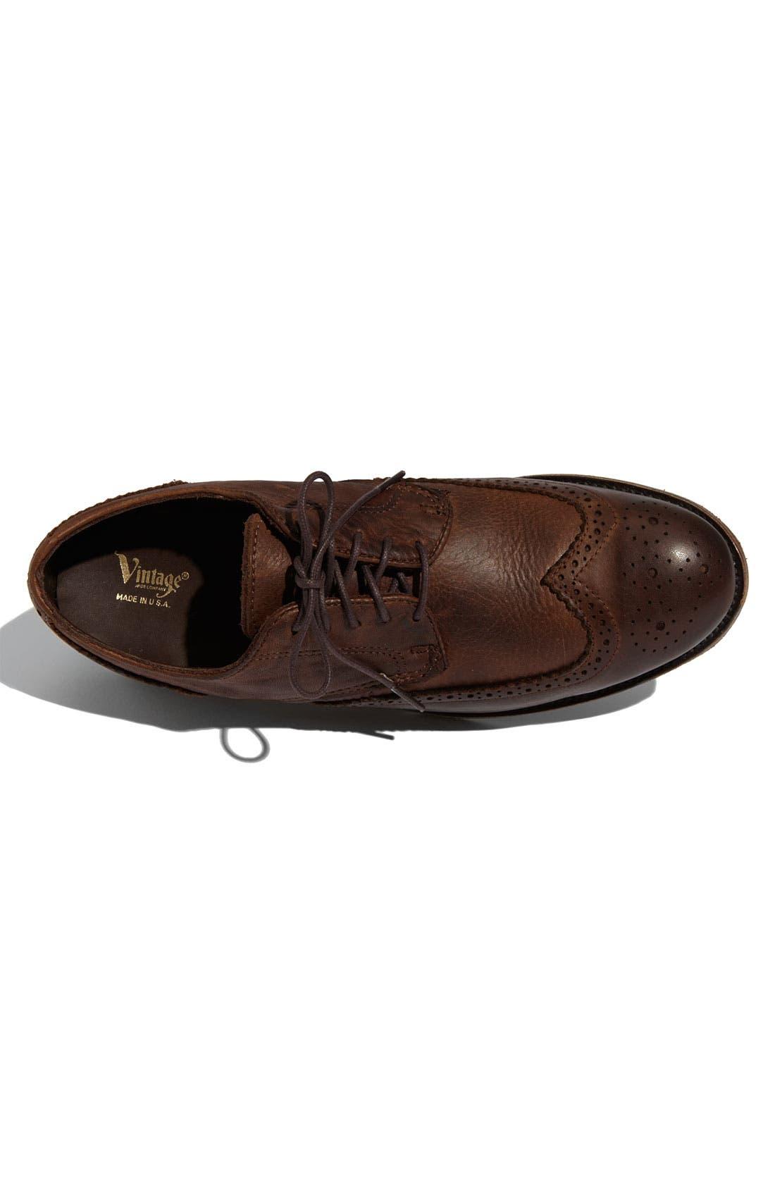 Alternate Image 3  - Vintage Shoe Company 'Langdon' Wingtip Oxford