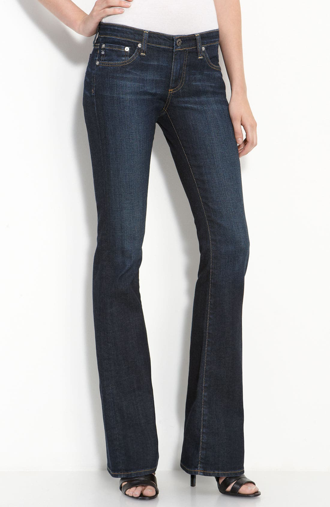 Alternate Image 2  - AG Jeans 'Angel' Bootcut Stretch Denim Jeans (Case)